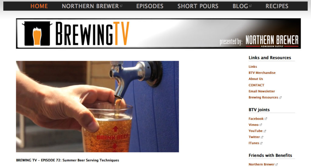 Brewing TV: The web series that got me fired up about homebrewing.