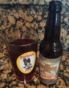 Homebrew No. 1: Irish Red Ale.